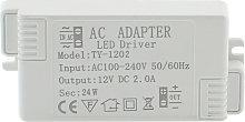 Fuente de alimentación DC12V/24W/2A