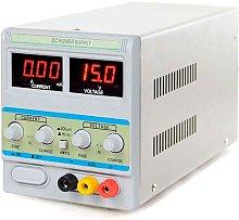 Fuente de alimentación DC30V/5A Regulable,