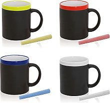 FUN FAN LINE - Set de Tazas de cerámica con
