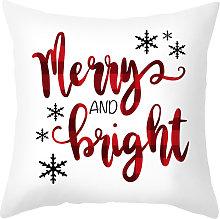 Funda de almohada de Navidad Funda de cojin