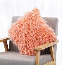 Funda de almohada de piel sintetica Funda de cojin