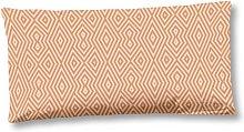 Funda de almohada RIVKAH 40x80 cm marrón cobre -