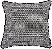 Funda de Cojín Decorativo MOBY COOR GRIS 45x45