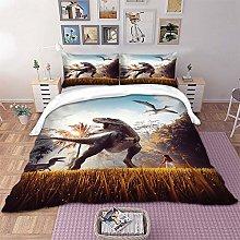 Funda de edredón Dinosaurio, Juego de cama para
