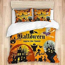 Funda de edredón, Fiesta de Halloween, diseño