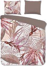 Funda de edredón RAYMOND 200x200/220 cm rosa -