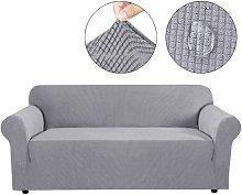 Funda de sofá de 3 plazas impermeable elástica