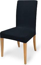 funda elástica para sillas - modelo Mia Negro,