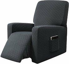 Funda elástica para sofá reclinable con funda