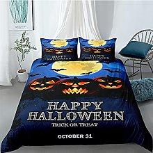 Funda Nordica 240x220 Cama 150 Halloween Azul Ropa