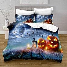 Funda Nordica Cama 150 Luna de Halloween Ropa de