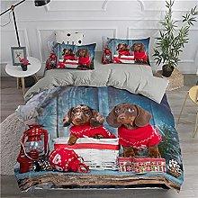 Funda Nordica Cama 150cm Animal De Perro Salchicha