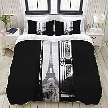 Funda nórdica, Torre Eiffel, Francia, francés,
