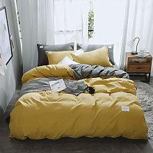 Funda nordica y funda de almohada de la cama de