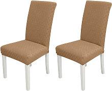 Funda para silla de comedor 2 piezas, funda