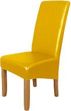 Funda para silla de comedor, impermeable de cuero
