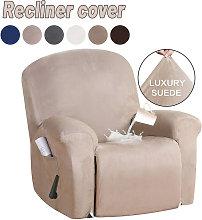 Funda para silla reclinable de gamuza Funda para