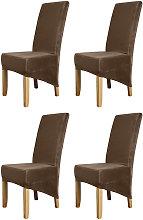 Funda para silla Silver Fox de color solido, 4