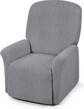 Funda para sillón Relax Creta Blanko Negro
