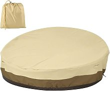 Funda protectora redonda para sofá cama,