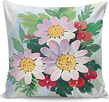 Fundas de almohada de primavera, romántico, rosa,