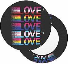 Fundas de Cojines de Colores Love Love Love Love