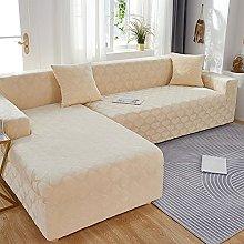 Fundas de sofa seccional elásticas suaves en