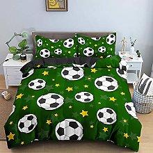 Fundas Nordicas Cama 105 180x200 Fútbol Verde