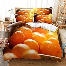 Fundas Nordicas Cama 90 135x190 Naranjas Amarillas
