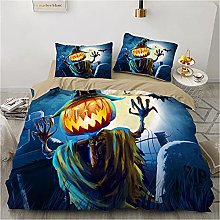 Fundas Nordicas Cama 90 Halloween Azul Ropa de
