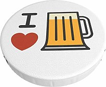Fundas para Taburete de Bar Square Love Beer