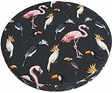 Fundas para taburetes de Bar Flamingo Bird Funda