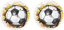 Fútbol Fútbol Abrebotellas 2 Piezas Clips