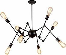 FXLYMR Lámpara de Techo Candelabro Lámpara de