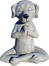 FYLYHWY Lindo Adorno Juguete Perro Buda