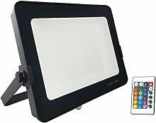 G.W.S Foco LED, RGB (multicolor), 100 W