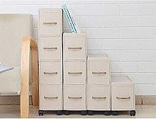 Gabinete de almacenamiento para cajones, estantes