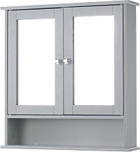 Gabinete de pared moderno de 2 puertas con puertas