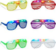 Gafas de Fiesta LED, Accesorio de Carnaval con