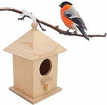 Gancon Nidos de Madera para Casas de pájaros para