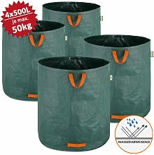 Gardebruk - 4 x Bolsas de Basura de jardín sacos