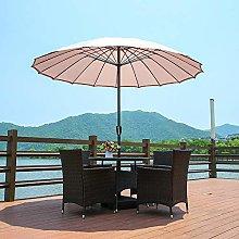 Garden Sun Shade Paraguas, Parasol Paraguas para