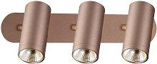 Garsaco - Foco de techo triple cobre