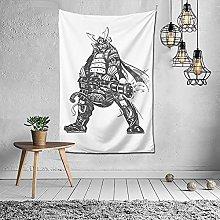 Gatling Samurai Tapiz Wall Poster Decoración para