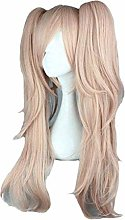 GAXQFEI Color Anime Wig Fancy Dress Pelucas Larga