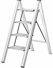 GAXQFEI Escaleras de Aleación de Aluminio