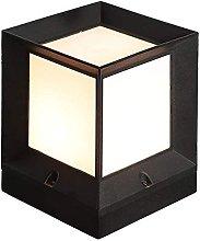 GAXQFEI Lámpara Cuadrada de Lámpara de Acrílico