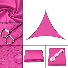 GAXQFEI Sun Shade Sail Triangle Impermeable Uv