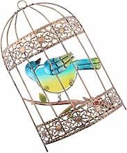 gazechimp Jaula de Pájaros de Hierro, Pajarera,
