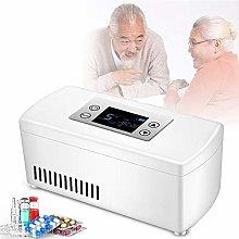 GBHJJ Nevera Portatil Insulina, Refrigerador de